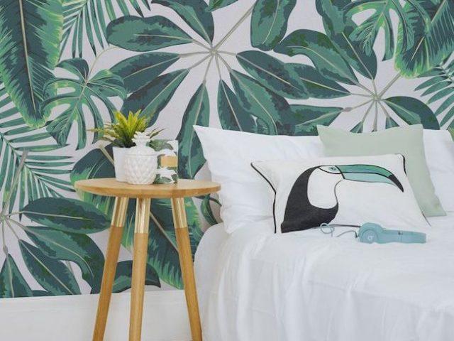 inspiration - une chambre dans le style urban jungle