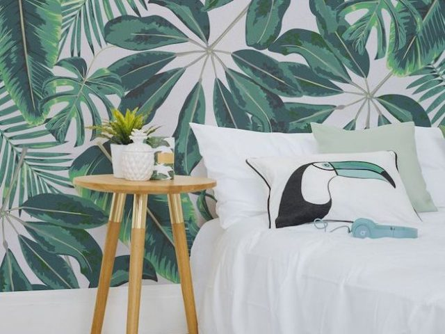 inspiration idee deco chambre ambiance urban jungle