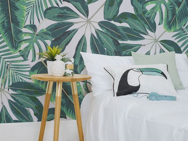 inspiration idee deco chambre ambiance urban jungle