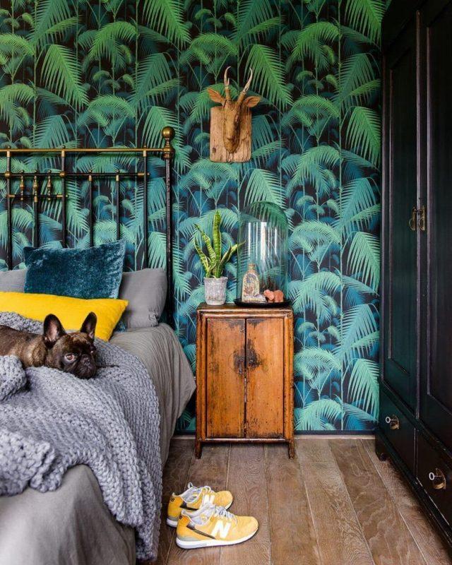 Inspiration Une Chambre Dans Le Style Urban Jungle Cocon Deco