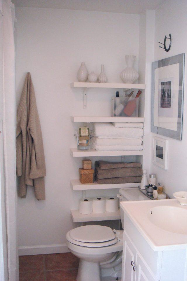 petits rangements pas cher salle de bain