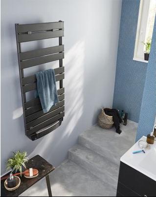 radiateur salle de bain seche serviette pratique deco