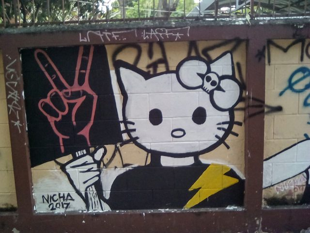 street art chiang mai thailande
