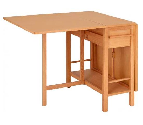table pliable cuisine meuble