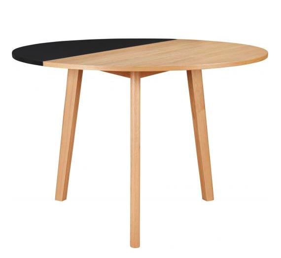 table ronde cuisine rabattable