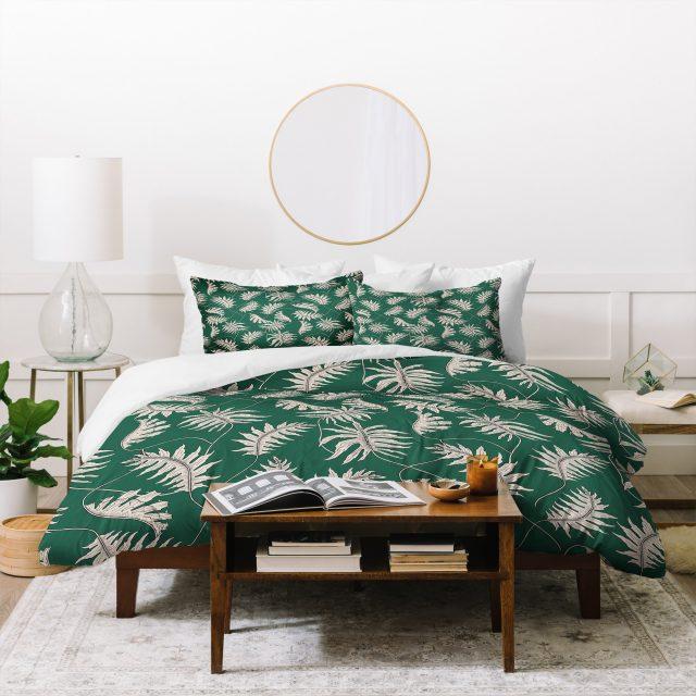 urban jungle chambre linge de lit