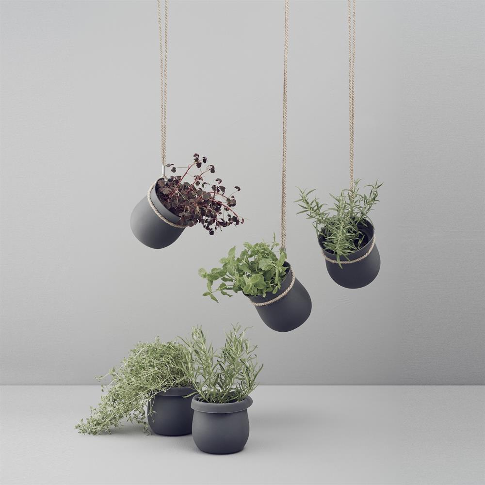 top d co 10 pots de fleurs suspendus pour mettre en. Black Bedroom Furniture Sets. Home Design Ideas