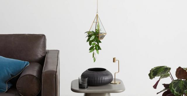cache pot plante fleur suspendue decoration interieur