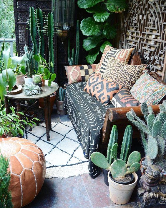 deco interieur plante tropicale idee