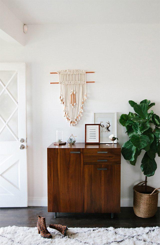 decoration minimaliste tendance entree