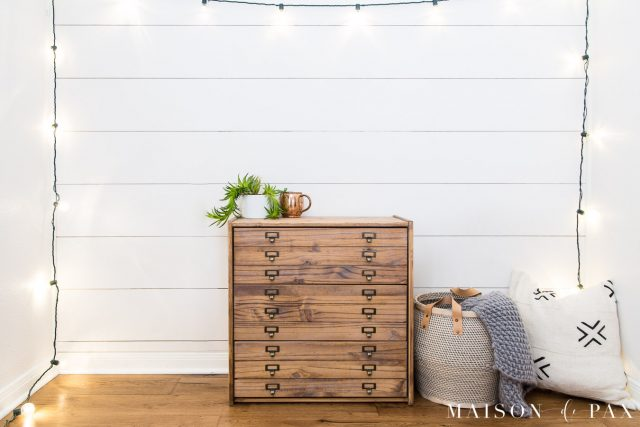 diy buffet commode idee vintage bois