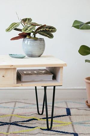 diy pied de table basse