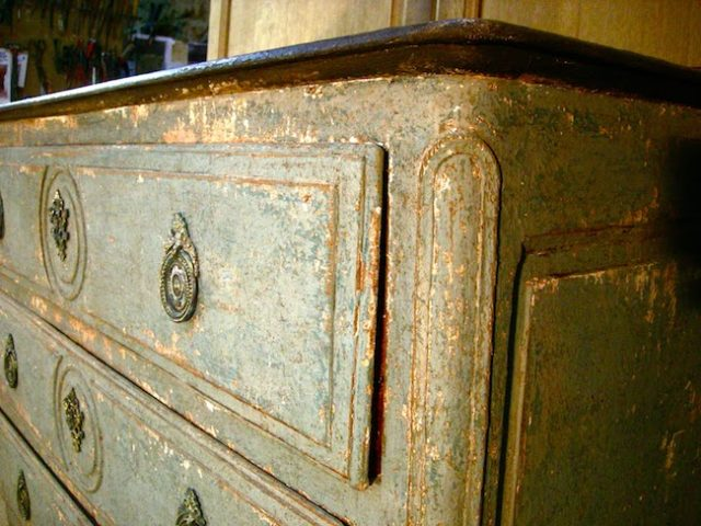 idee deco mobilier patine ancienne