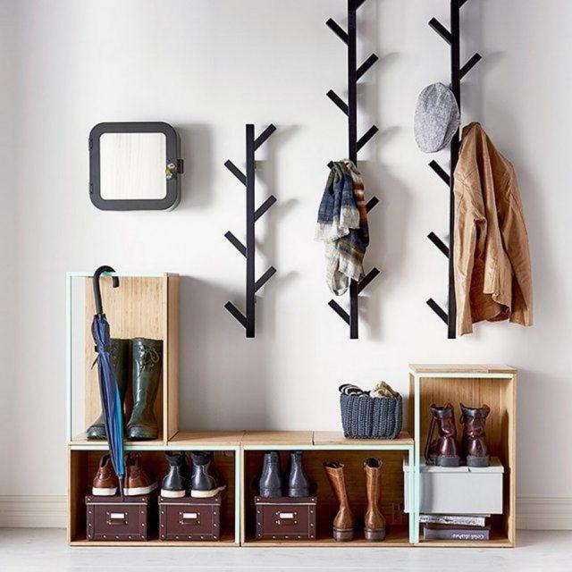 meuble sympa entree minimaliste