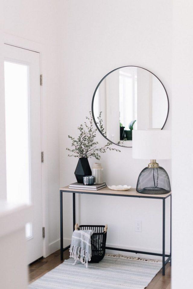 Id es d co une entr e minimaliste cocon d co vie nomade - Deco petite entree maison ...