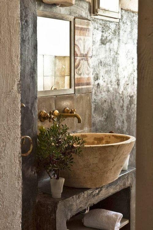 salle de bain decoration wabi sabi