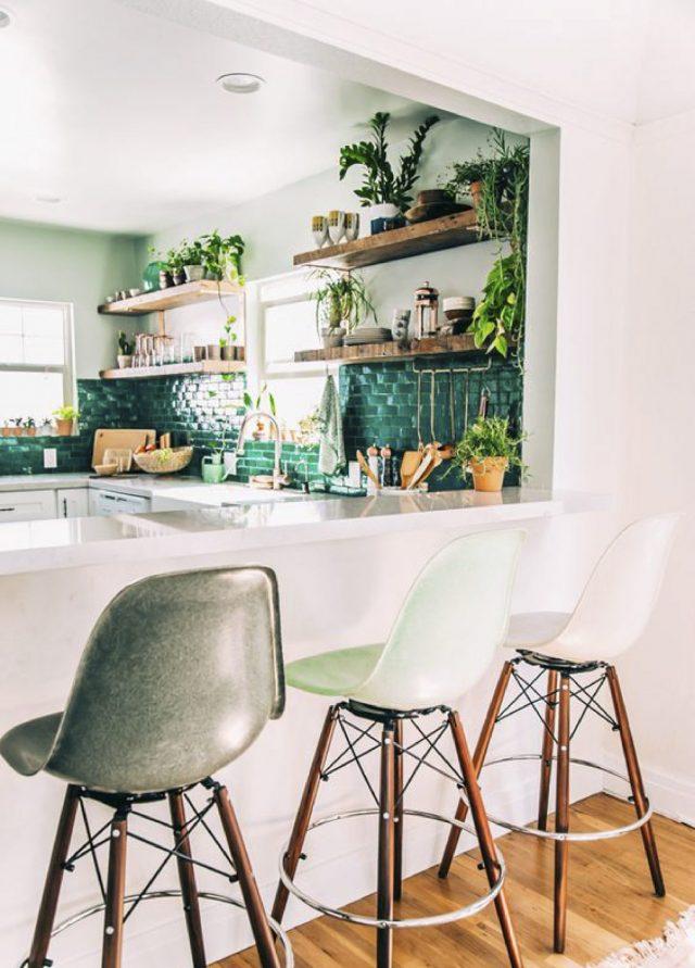 style urban jungle cuisine idee deco