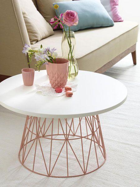 table basse deco tendance scandinave ronde