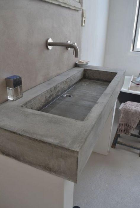 vasque beton deco wabi sabi