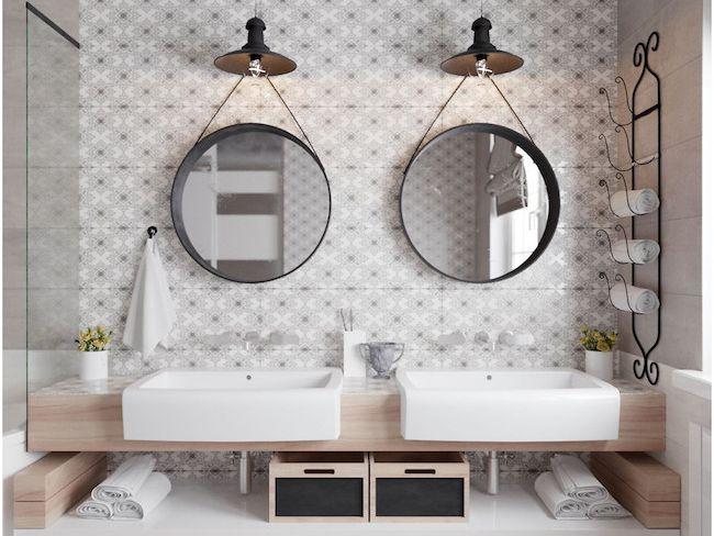 conseils deco rangement salle de bain minimaliste