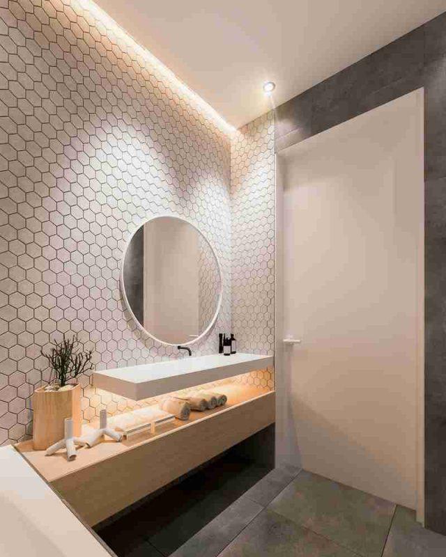 idee deco salle de bain minimaliste rangements