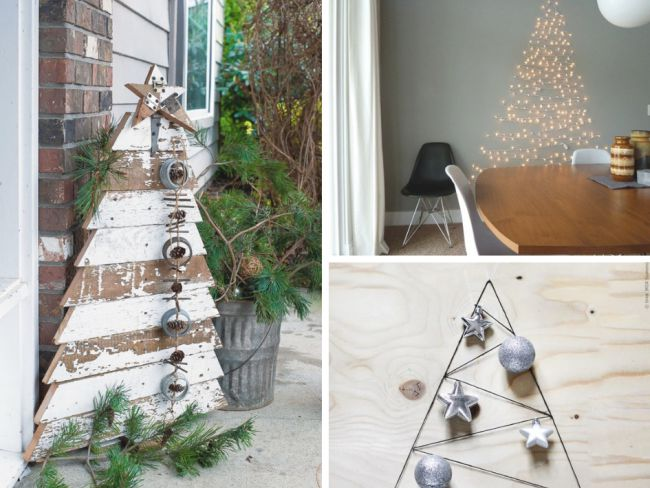 idee sapin a faire soi meme decoration noel