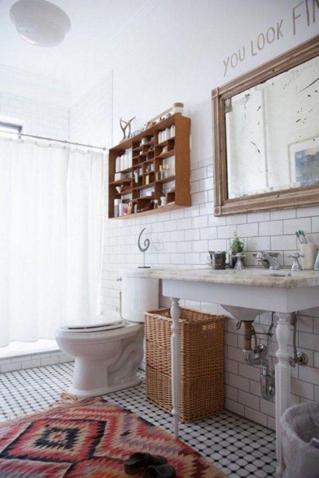 salle de bain inspiration boheme deco