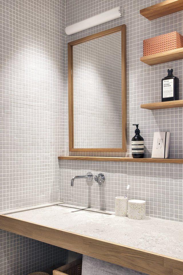 salle de bain minimaliste deco sobre