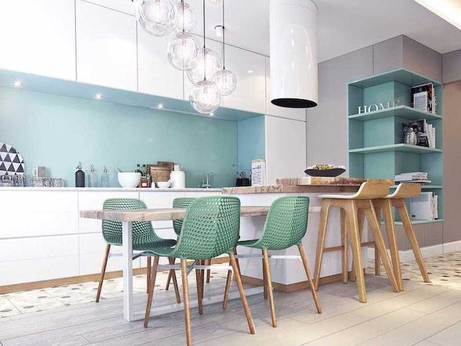 10 idees deco couleur cuisine