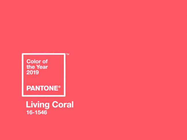 couleur deco pantone 2019 living coral
