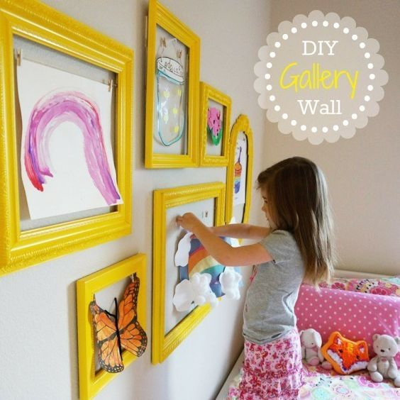 decoration mur chambre montessori idee