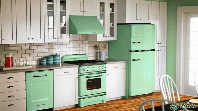 frigo couleur cuisine