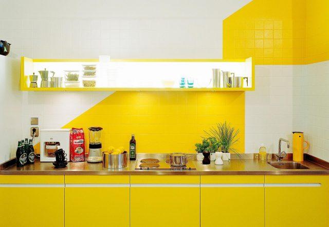 peinture credence cuisine idee