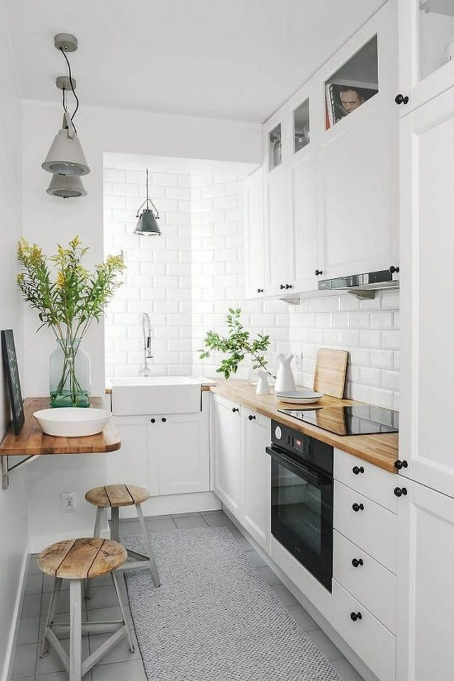 petite cuisine rangement renovation