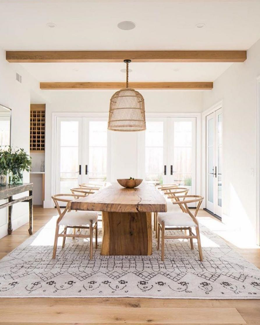 ambiance naturelle decoration salle a manger