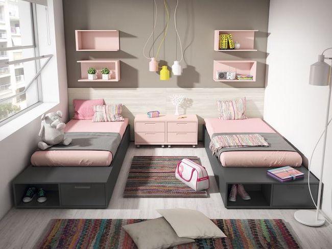 Merveilleux Conseils Deco Chambre Double Enfant