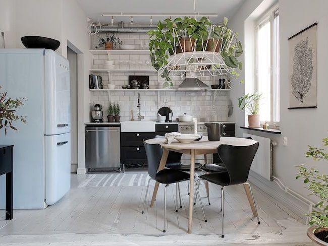cuisine deco urban jungle idee