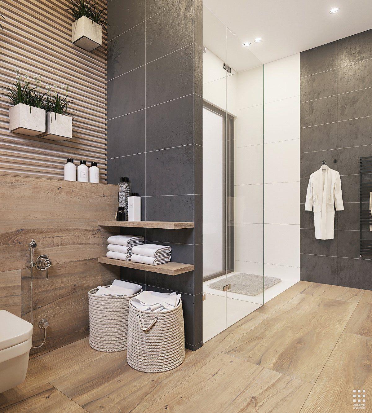 Idées déco] Décorer sa salle de bain avec du bois | Cocon ...