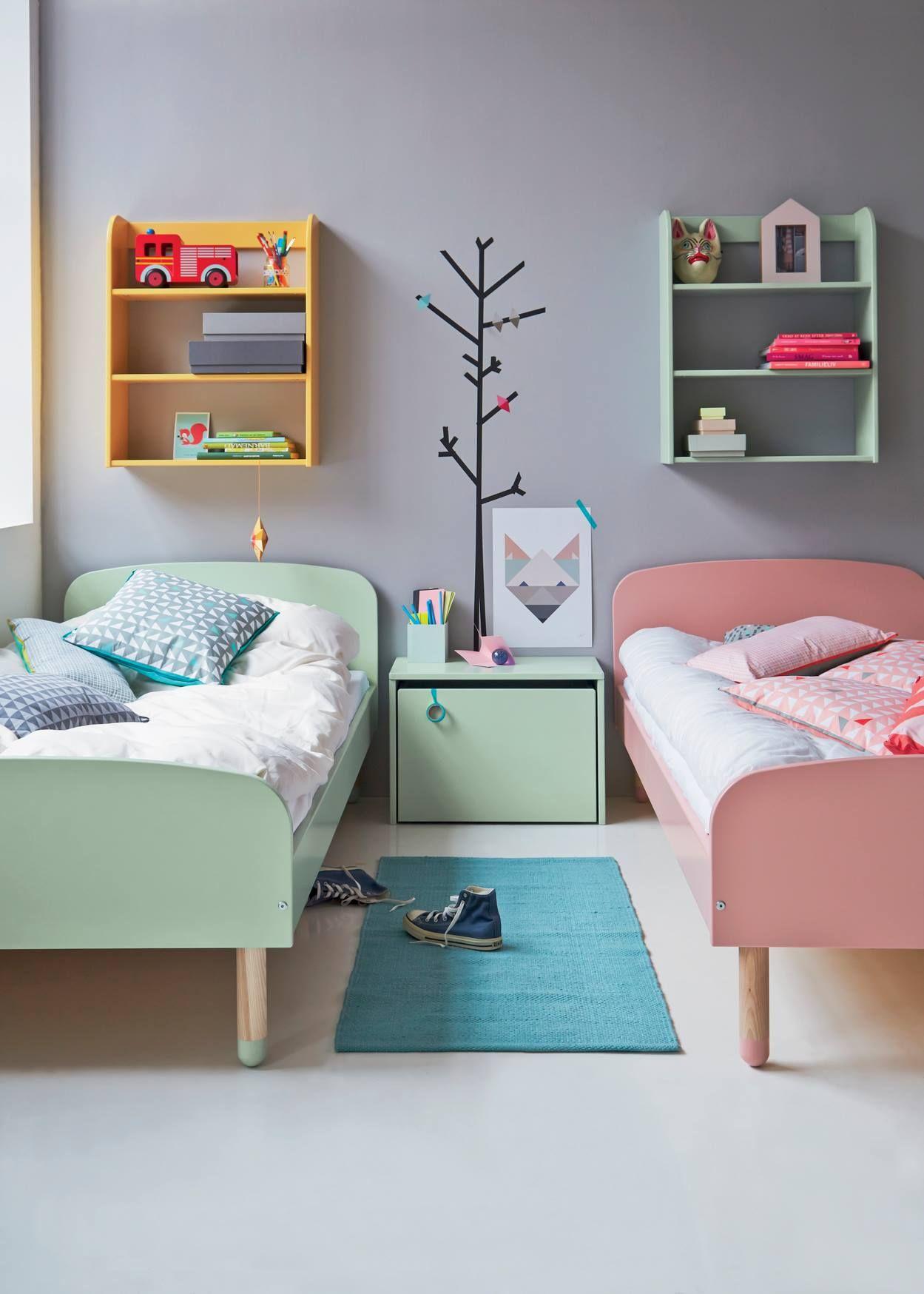 decoration chambre enfant partage