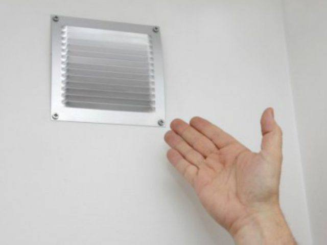 grille aeration probleme humidite