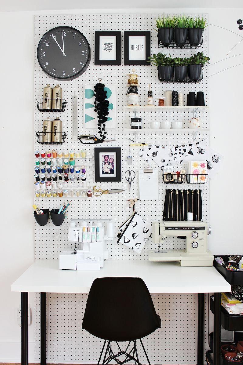 idee rangement bureau minimaliste et creatif