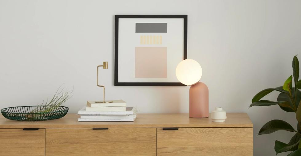 lampe de chevet design tendance minimaliste