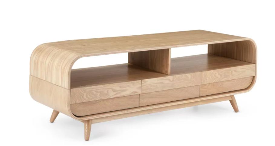 meuble tele minimaliste bois
