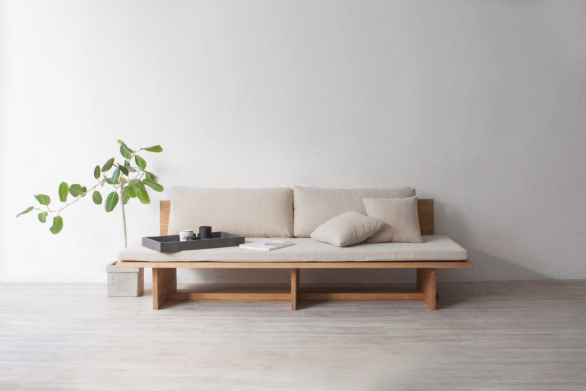 minimalisme japandi plante