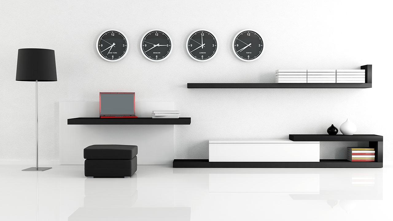 rangement minimaliste interieur