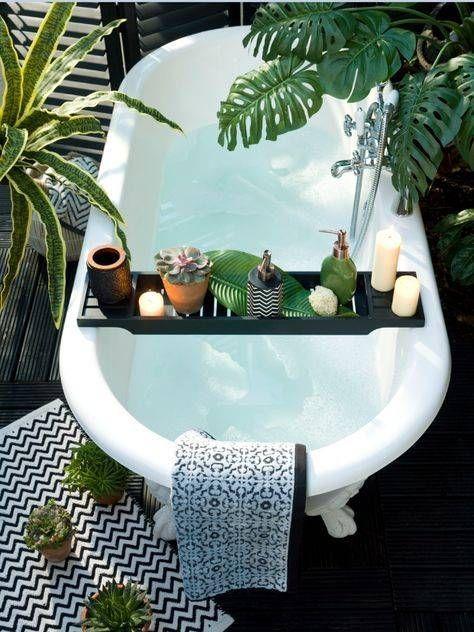 salle de bain bien etre baignoire
