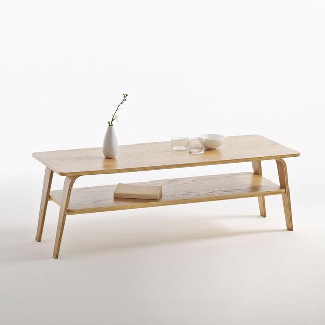 table basse bois minimaliste