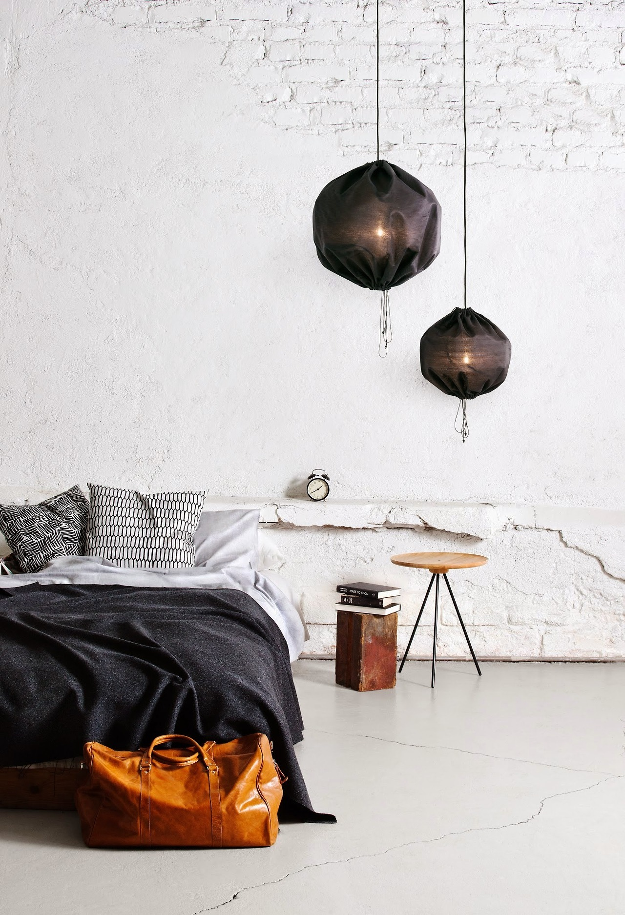 chambre deco less is more