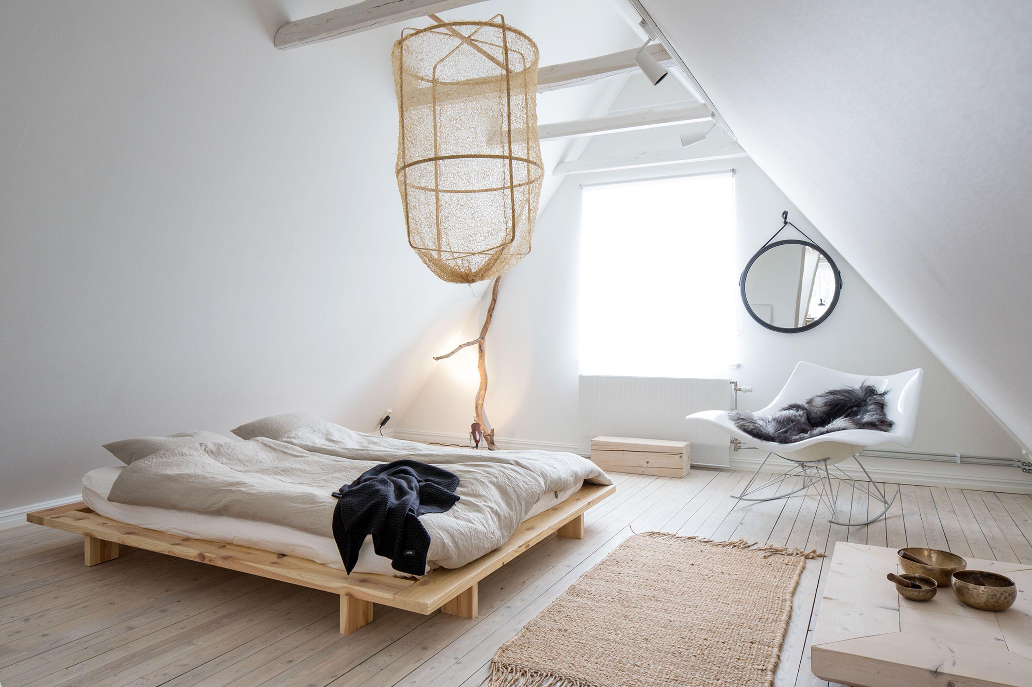chambre minimaliste decoration sobre