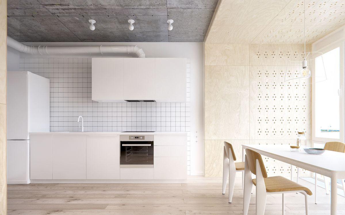 cuisine tendance contemporaine deco sobre et design